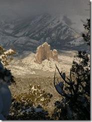 Looking down on Castle Rock