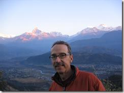 Lakeside outside Pokhara